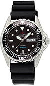 Olympic Mens 200m Divers Watch Black Dial