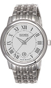 Olympic Gents Steel Classic Watch Silver Dial