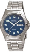 Olympic Mens Work Watch Blue Dial with Numbers (NEW)